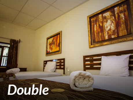 Double (Two Queen Size beds)